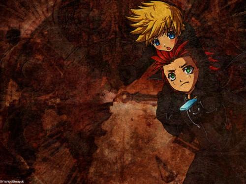 Square Enix, Kingdom Hearts, Roxas, Axel Wallpaper