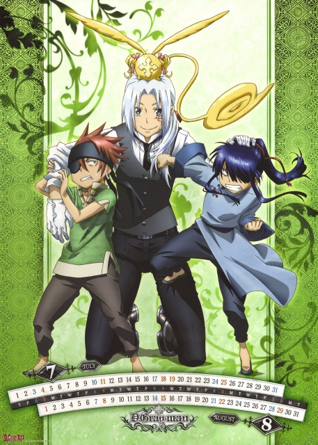TMS Entertainment, D Gray-Man, Lavi, Allen Walker, Yu Kanda