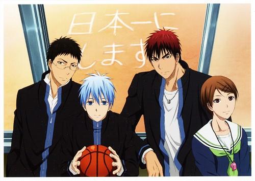 Tadatoshi Fujimaki, Production I.G, Kuroko no Basket, Taiga Kagami, Junpei Hyuuga