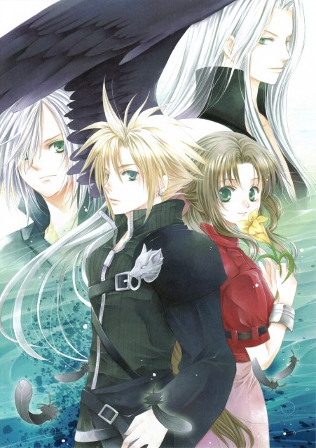 You Kousaka, Final Fantasy VII: Advent Children, Cloud Strife, Aerith Gainsborough, Kadaj
