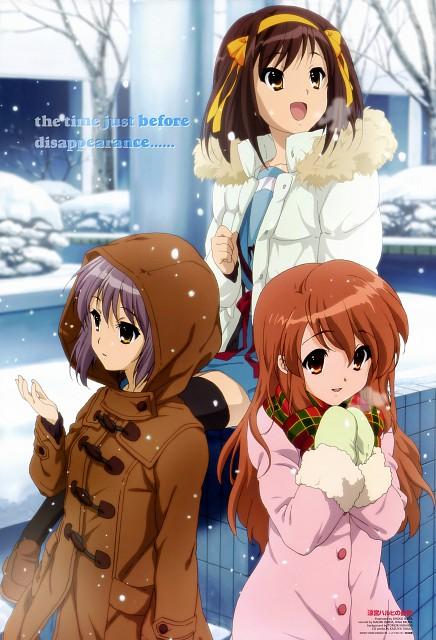 Shouko Ikeda, Kyoto Animation, The Melancholy of Suzumiya Haruhi, Mikuru Asahina, Haruhi Suzumiya