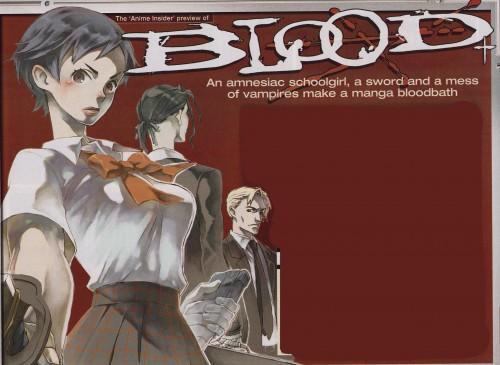 Production I.G, Blood+, Hagi, Saya Otonashi, David