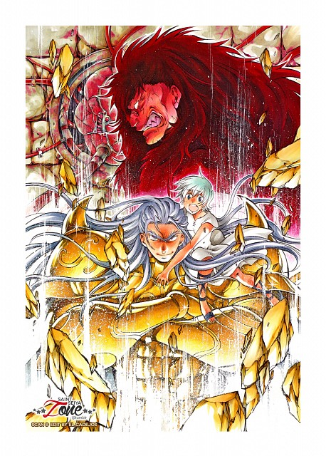 Shiori Teshirogi, TMS Entertainment, Saint Seiya: The Lost Canvas, Taurus Rasgado, Celintha