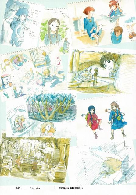 Studio Ghibli, The Borrower Arrietty, Arrietty, Sho (The Borrower Arrietty)