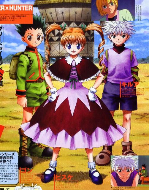 Yoshihiro Togashi, Nippon Animation, Hunter x Hunter, Killua Zaoldyeck, Biscuit Krueger