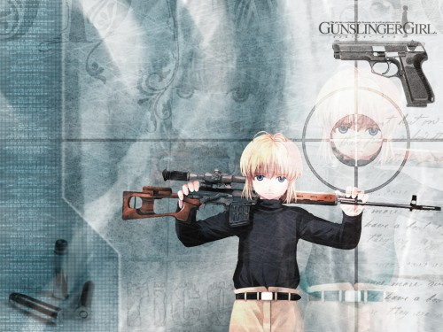 Madhouse, Gunslinger Girl, Rico (Gunslinger Girl) Wallpaper