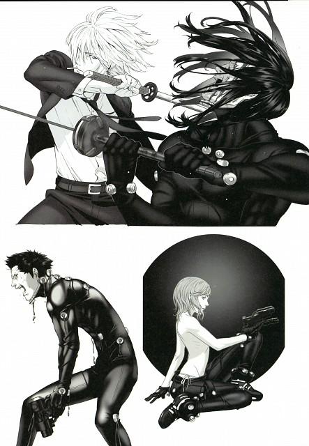 Yuusuke Kozaki, Gantz, KYMG:2 - Yusuke Kozaki Illustrations, Hikawa (Gantz), Chiaki (Gantz)