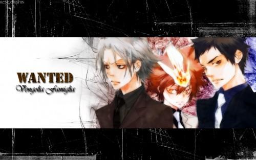 Akira Amano, Artland, Katekyo Hitman Reborn!, Takeshi Yamamoto, Hayato Gokudera Wallpaper