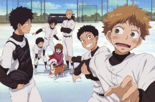 Asa Higuchi, A-1 Pictures, Ookiku Furikabutte, Ren Mihashi, Yuuichirou Tajima