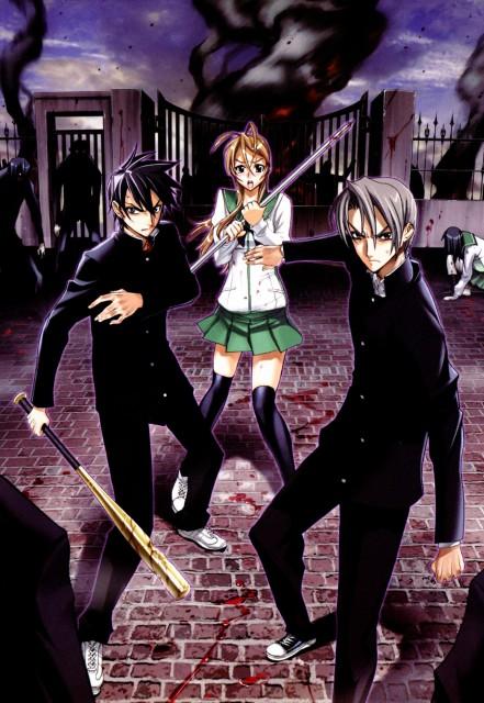 Shouji Sato, Madhouse, High School of the Dead, Takashi Komuro, Rei Miyamoto