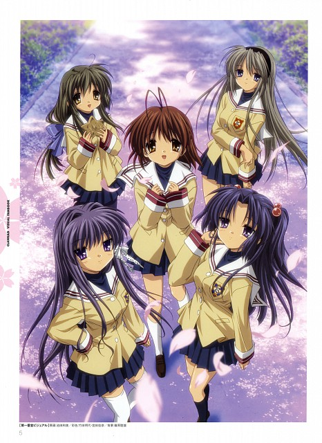 Kazumi Ikeda, Kyoto Animation, Clannad, Kyou Fujibayashi, Kotomi Ichinose