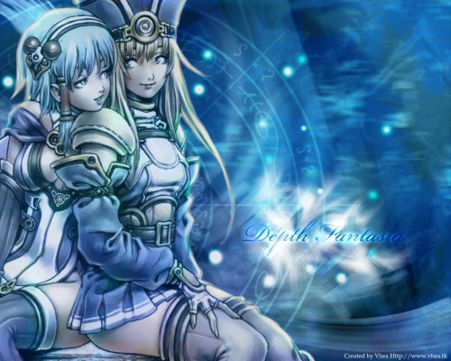 Square Enix, Depth Fantasia, Monica (Depth Fantasia), Reia Wallpaper