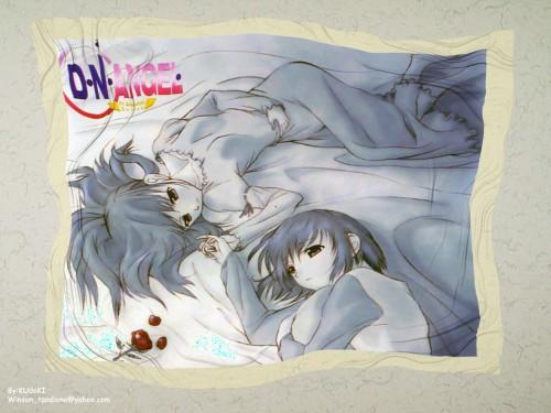 Yukiru Sugisaki, Xebec, D.N.Angel, Risa Harada, Riku Harada Wallpaper