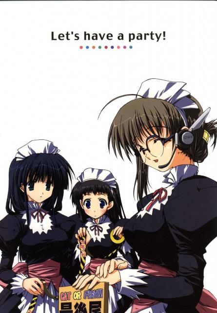 Misato Mitsumi, AQUAPLUS, Comic Party, Aya Hasebe, Asahi Sakurai