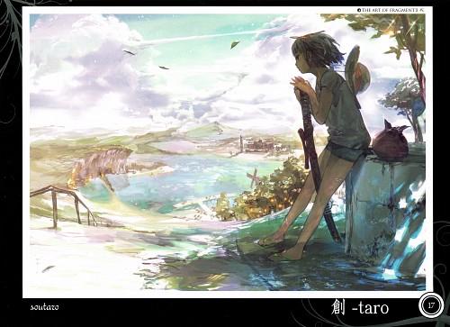 Sou-taro, Touhou Project Tribute Arts - Fragment 2, Touhou, Youmu Konpaku, Comic Market