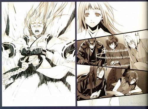 Yone Kazuki, Idea Factory, Studio DEEN, Kazuki Yone Gashuu - Zanka, Hiiro no Kakera