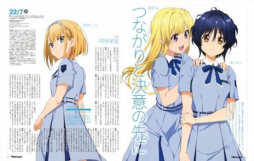 A-1 Pictures, 22/7, Sakura Fujima, Nicole Saitou, Miu Takigawa