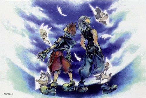 Square Enix, Kingdom Hearts, Naminé, Riku, Donald Duck