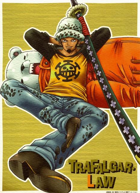 Eiichiro Oda, Toei Animation, One Piece, One Piece 2012 Calendar, Bepo