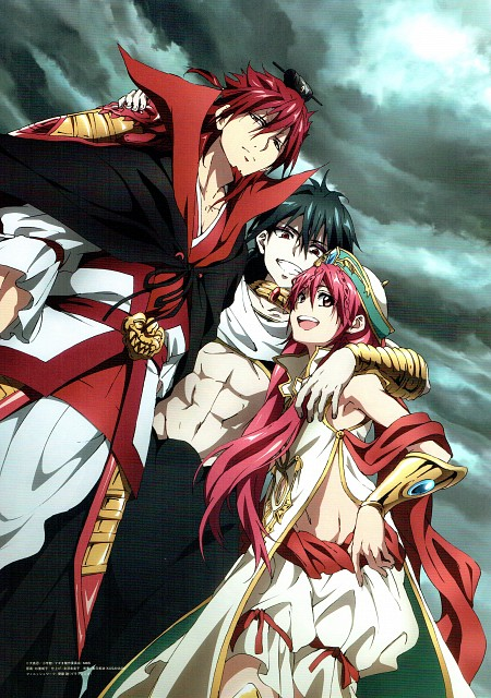 Shinobu Ohtaka, A-1 Pictures, MAGI: The Labyrinth of Magic, Kouha Ren, Kouen Ren
