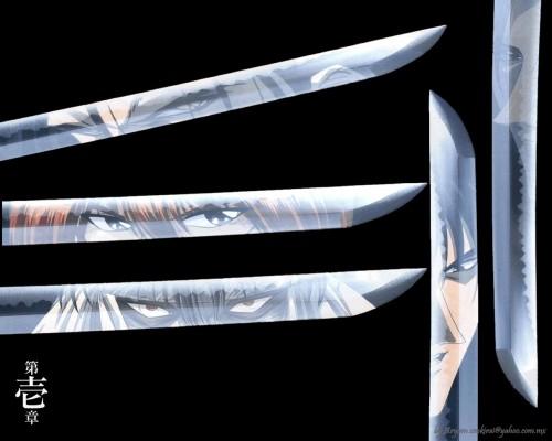Rurouni Kenshin, Kenshin Himura, Shougo Amakusa, Aoshi Shinomori, Hajime Saitou Wallpaper