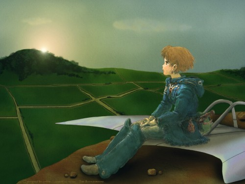 Studio Ghibli, Nausicaa of the Valley of the Wind, Nausicaa Wallpaper