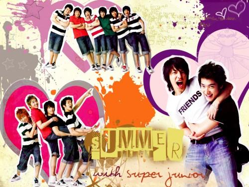Yesung, Donghae, Sungmin, Siwon, Shindong Wallpaper