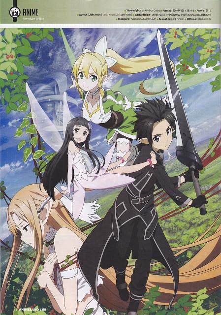 Abec, A-1 Pictures, Sword Art Online, Asuna Yuuki, Leafa