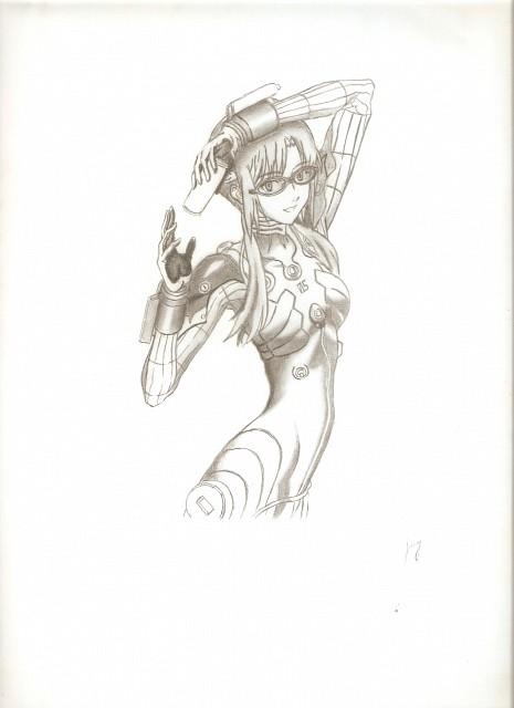 Yoshiyuki Sadamoto, Gainax, Neon Genesis Evangelion, Makinami Mari Illustrious, Member Art