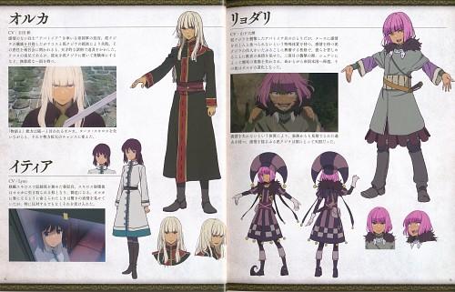 Haruko Izuka, Abi Umeda, J.C. Staff, Kujira no Kora wa Sajou ni Utau, Orca (Kujira)