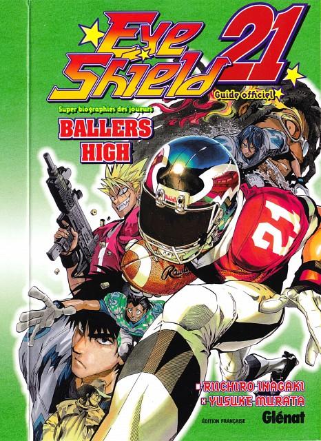 Studio Gallop, Eyeshield 21, Sena Kobayakawa, Yoichi Hiruma, Manga Cover