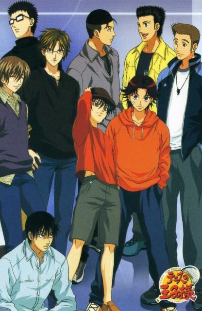 Takeshi Konomi, J.C. Staff, Prince of Tennis, Shusuke Fuji, Takeshi Momoshiro