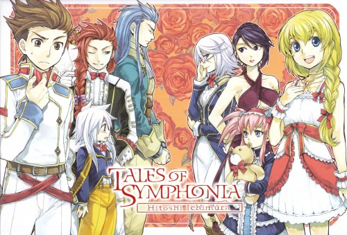 Kousuke Fujishima, Hitoshi Ichimura, Namco, Tales of Symphonia, Zelos Wilder
