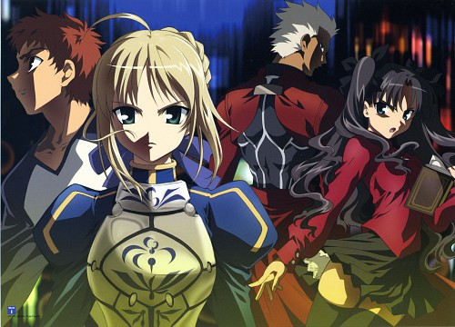 Studio Deen, TYPE-MOON, Fate/Stay Night Visual Collection, Fate/stay night, Archer (Fate/stay night)