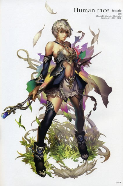Juno Jeong, The Ark: Lineage II Illustrations, Lineage