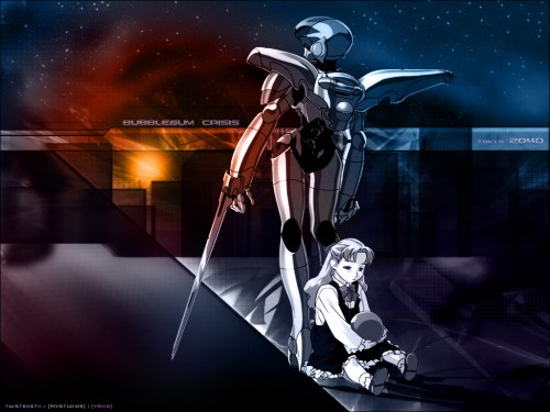 Anime International Company, Bubblegum Crisis Wallpaper
