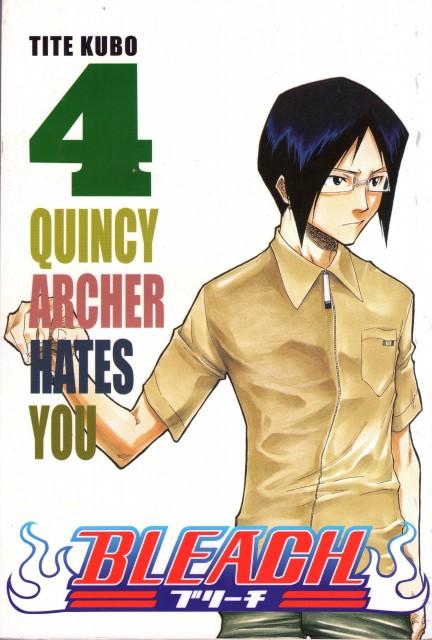 Kubo Tite, Bleach, Uryuu Ishida, Manga Cover
