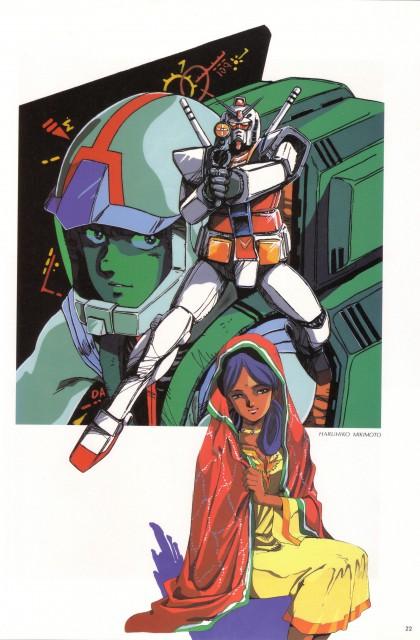 Sunrise (Studio), Mobile Suit Gundam - Universal Century, Lalah Sune, Amuro Ray