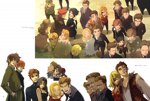 Katsumi Enami, Brains Base, Baccano!, Czeslaw Meyer, Luck Gandor