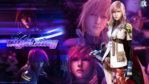 Lightning (FF XIII) Wallpaper