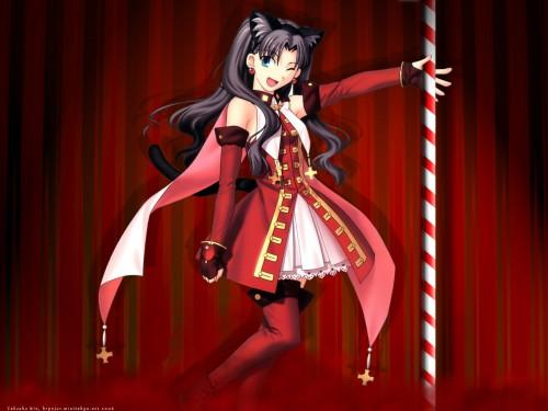 TYPE-MOON, Fate/Hollow ataraxia, Kaleido Ruby, Rin Tohsaka Wallpaper