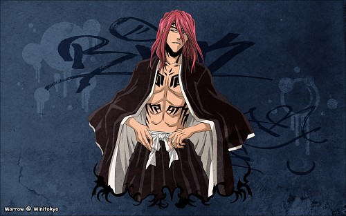 Kubo Tite, Studio Pierrot, Bleach, Renji Abarai, Vector Art Wallpaper