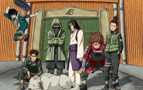Masashi Kishimoto, Studio Pierrot, Naruto, Shikamaru Nara, Kiba Inuzuka Wallpaper