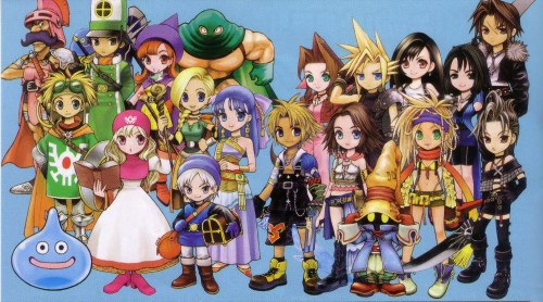 Square Enix, Final Fantasy X-2, Final Fantasy VII, Final Fantasy IX, Final Fantasy VIII