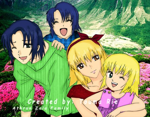 Sunrise (Studio), Mobile Suit Gundam SEED Destiny, Cagalli Yula Athha, Athrun Zala, Member Art