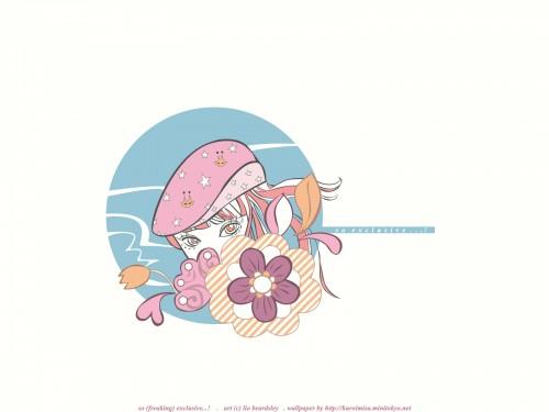 Lio Beardsley, Vector Art Wallpaper