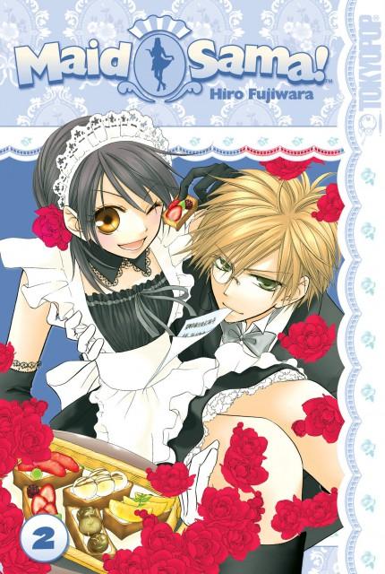 Hiro Fujiwara, Kaichou wa Maid-sama!, Takumi Usui, Misaki Ayuzawa, Manga Cover