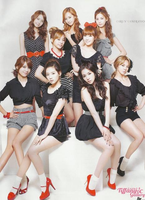 Tiffany, TaeYeon, Sunny, Jessica, HyoYeon