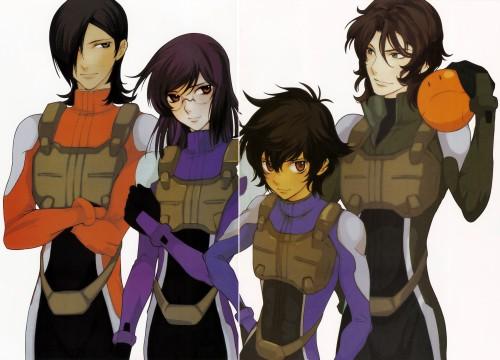 Yun Kouga, Mobile Suit Gundam 00, Allelujah Haptism, Haro, Tieria Erde