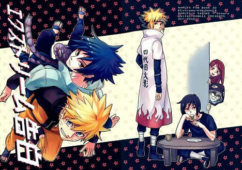 10-Rankai, Naruto, Itachi Uchiha, Minato Namikaze, Sasuke Uchiha